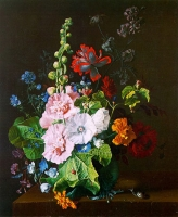 """Copy of Painting """"Bouquet with Mallows"""""""