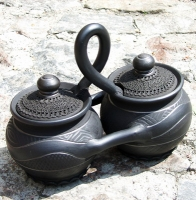 """Ceramic cooking twin-pots """"Classic"""""""