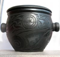 """Pottery Saucepan """"Nymph"""""""