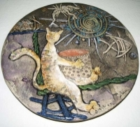 "Decorative Plate ""Collector"""