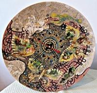 """Wall Clock """"Whirlwind"""""""