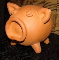 """Terracotta Ceramic Money-box """"Pig"""""""