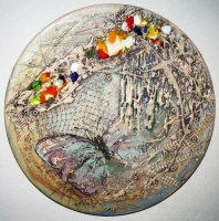 "Decorative Plate ""Dream"""