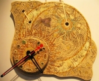 """Clock pottery """"Milky Way"""""""