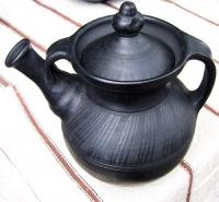 "Teapot  pottery ""Cossack"""
