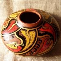 """Vase """"Fire Flower"""""""